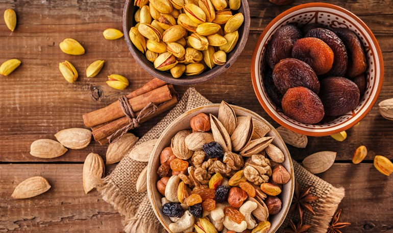 Dry fruit: how and when consume it?