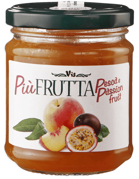 Più Frutta Benessere Nutrition & Taste Peach and passion fruit