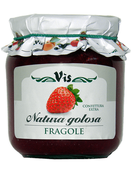 Natura Golosa Extra jam 400g Strawberry