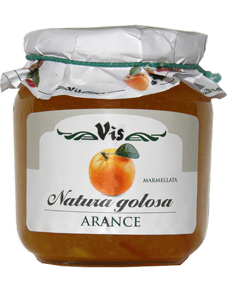 Natura Golosa Marmalade 400g Orange