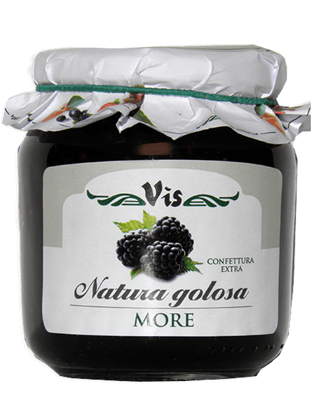 Natura Golosa Extra jam 400g Blackberries