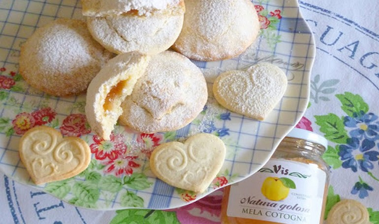 Biscuits of shortcrust pastry without butter
