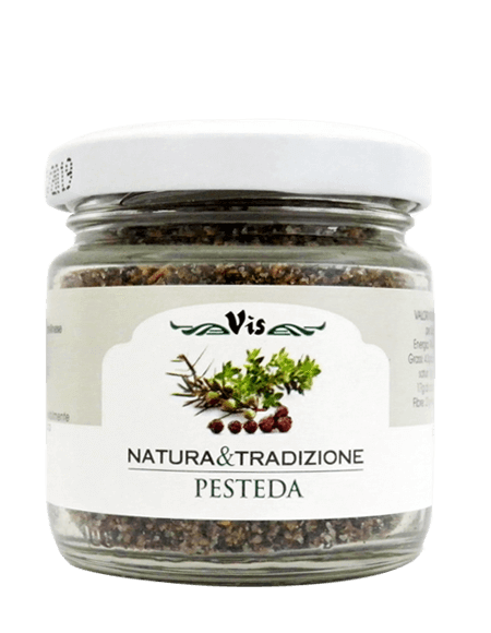 Pesteda The seasoning of Valtellina Size 65g