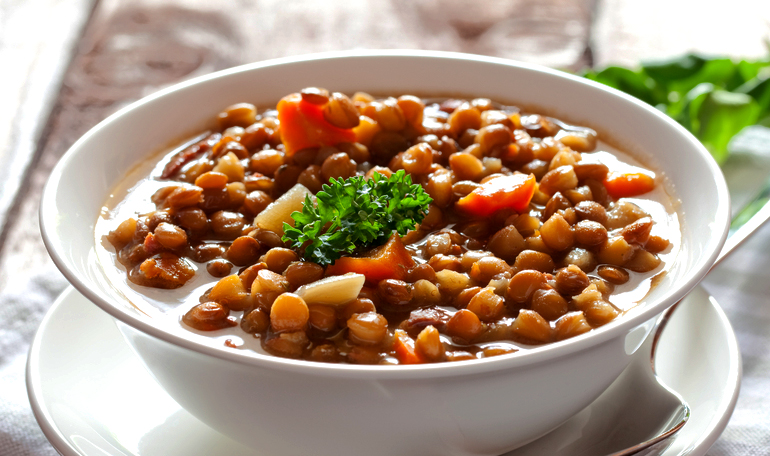 The lentils: not only for the year-end dinner
