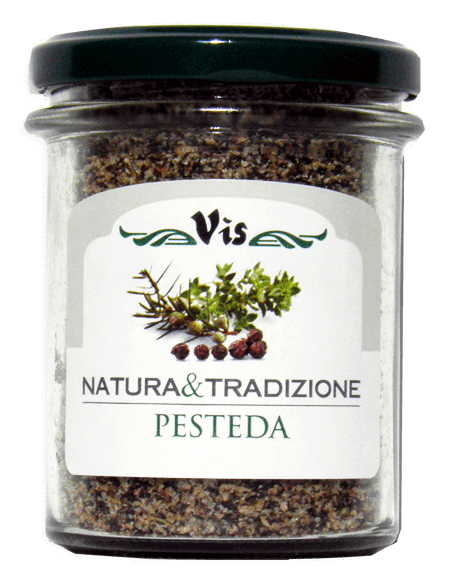 Pesteda The seasoning of Valtellina Size 130g