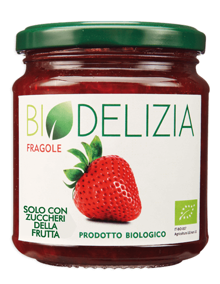 Biodelizia The taste of nature Strawberry